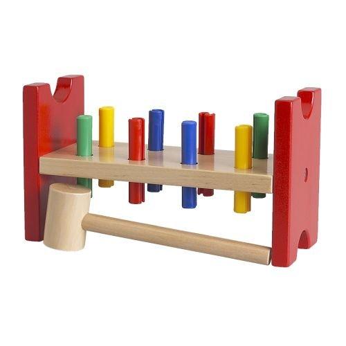 IKEA-MULA-bloque-de-martillar-juguete-multicolor