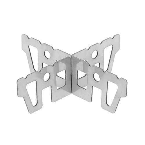Soporte de titanio de hornillo de alcohol de Lixada, soporte en forma...