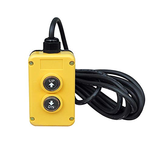 EllieMica 3 Wire Dump Trailer Remote Control Switch 12V for Single Acting  Hydraulic Pumps Power Units Lift Dump Truck