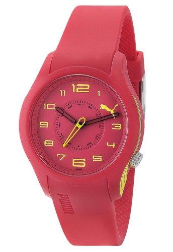 Puma Time - PU102352009 - Montre Femme - Quartz Analogique - Bracelet Plastique Rouge