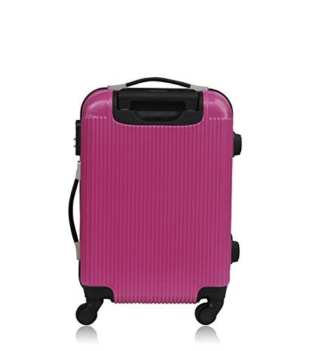 Les P'tites Bombes Set di valigie, Rose (rosa) - BD-12249