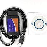 Best OBD2 Scanner - JullyeleITgant USB V1.5 OBD2 Car Diagnostica Interfaccia Scanner Review