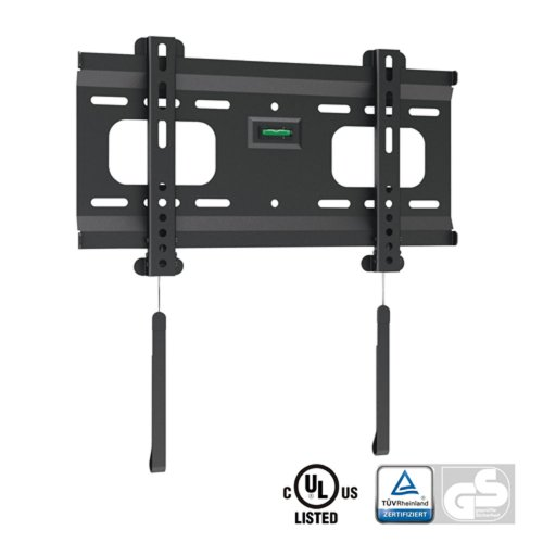 """Kanex Ultra-Slim Black Fixed/Flat Low-Profile Wall Mount Bracket for Hannspree HANNS-G HH241HPB 24"""" inch LCD Widescreen Monitor"""
