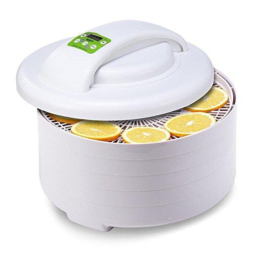 lerda pe Food Dehydrators 5 Dörrobstmaschine mit digitaler Temperaturregelung und Timer (automatische Abschaltung)