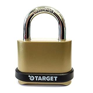 Target Locks® 4 Digit Combination 57mm Heavy Duty High Security Padlock (1 Lock)