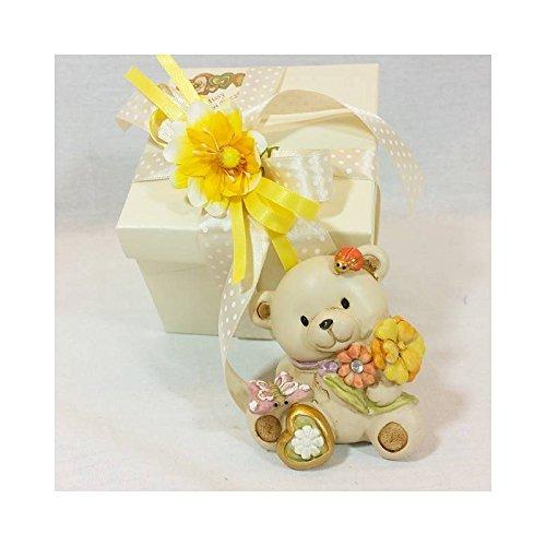 Bomboniere orsetto missy nascita battesimo comunione cresima compleanno 12pz