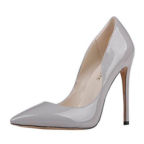 MERUMOTE , Chaussures à talon fin femme Gris