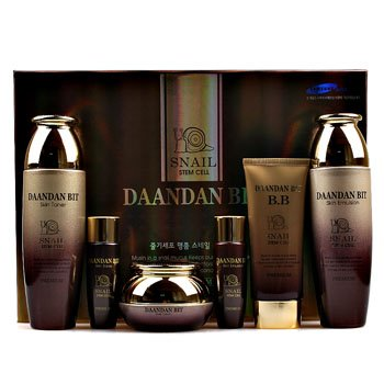 Korean Cosmetics_Daandanbit Snail Stem Cell 4pc Gift Set