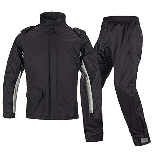 BZD Reflectante Impermeable Pantalones De Lluvia Traje
