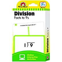 Flashcards: Division Facts to 9s (Flashcards: Math)