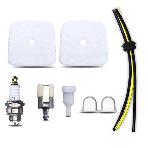 Kungfu Mall Rasenmäher Kraftstoffleitung Tune Up Service Luftfilter Kit für alle neuen Mantis Teile für Echo Tiller -
