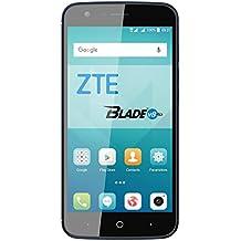 "ZTE Blade V8 Lite - Smartphone libre de 5"" (4G, Octa-Core 1.5GHz, 2 GB RAM, almacenamiento interno de 16 GB, Bluetooth, WiFi, Android) color azul oscuro"