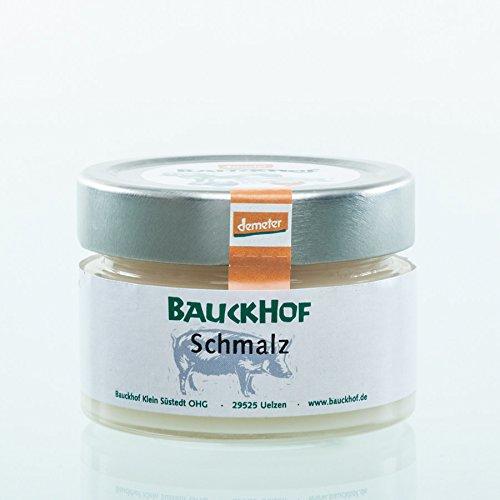 Bauckhof Fleischerei Bio Schmalz im Glas (1 x 80 gr)