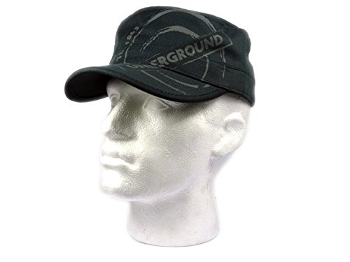 Army Style Baseball Cap - Underground Roundel with ESTD 1863 Printed, Transport for London Souvenir