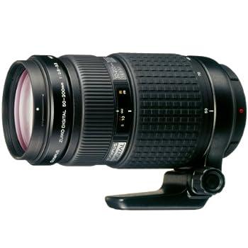 Olympus 50 - 200 mm f/2.8 - 3.5 ED Zuiko Digital - Objetivo para cuatro tercios (distancia focal 50-200mm, apertura f/2.8) color negro