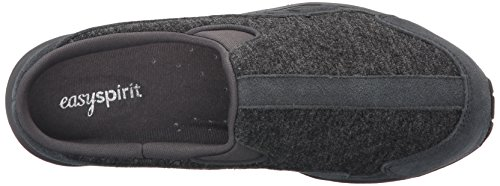Easy Spirit Travel Time étroit Cuir Mules DGRY-DGY