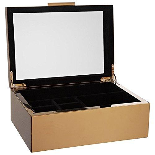 Gift Company - hochwertige Schmuckbox - Schmuckkasten - Michigan - Kupfer - sehr edel (Michigan Kupfer)