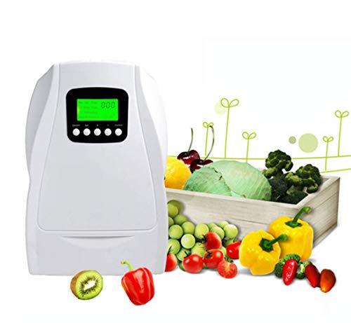 FILTERQ Tragbarer Ozon-Wasser-Generator-Zyklus-Digital-Luftreiniger-Plug-in Töten Sie Geruch-Entferner-Sterilisator-Anionen-Ionen-Ozonisator-Ausgangsnahrungsmittelgemüse-Früchte