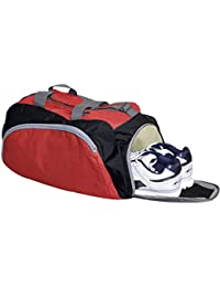 CP Bigbasket Sports Bag | Gym Bag | Duffel Bag | Fitness Bag | Travel Bag, Red