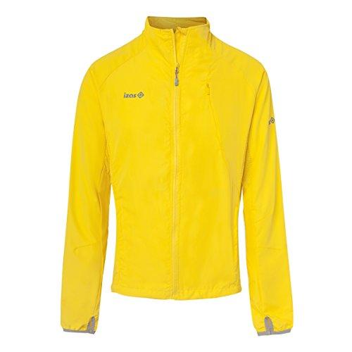 IZAS Herren Running Jacket BREZEL Yellow