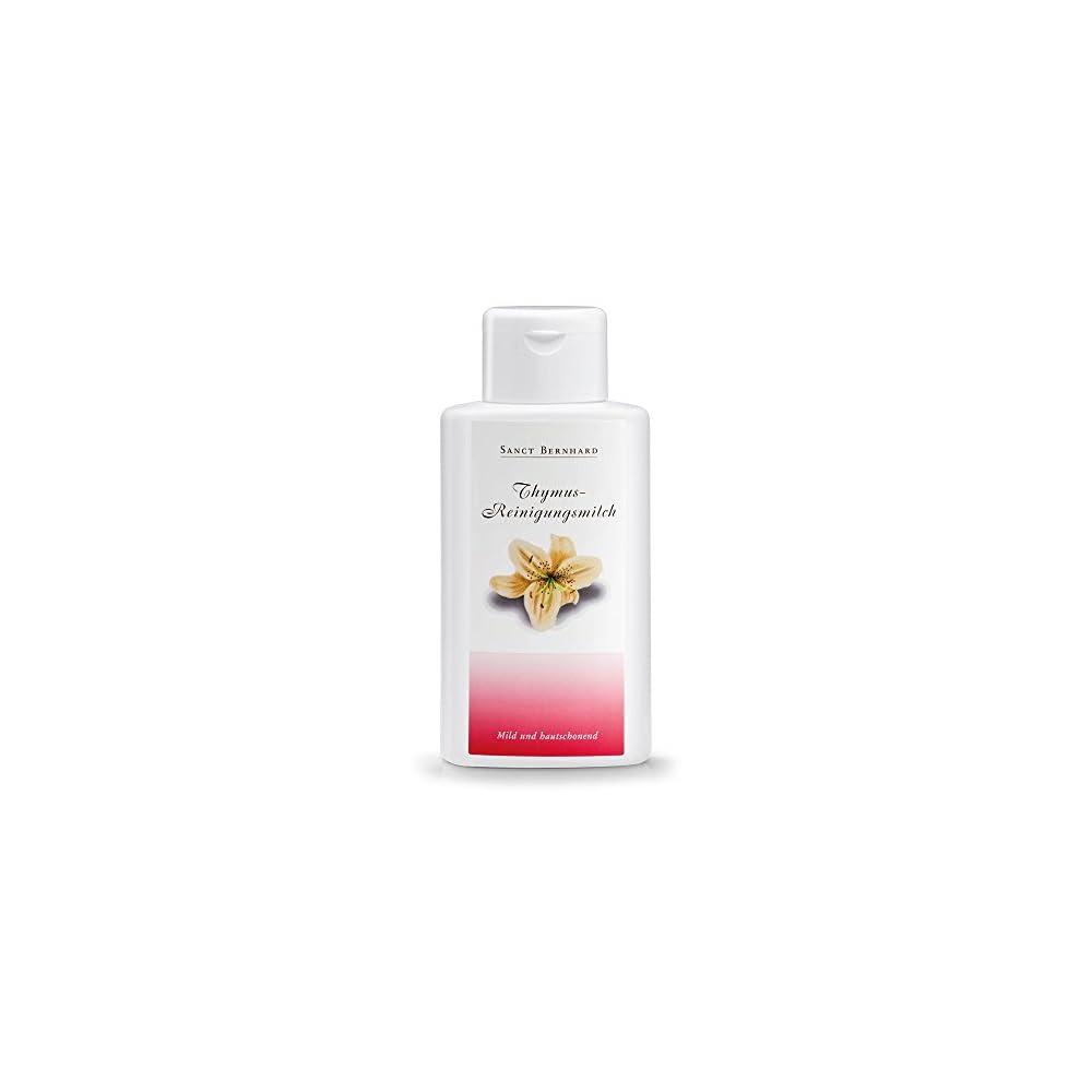Thymus Reinigungsmilch Mit Mandell Collagen 250 Ml