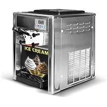gastroquik profesional Soft Máquina de Helados, heladera, hielo, hielo crema–18L/hora–Heladería, restaurante–con Pantalla Digital, Gastronomía, selbstständigkeit