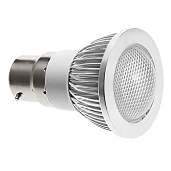 Dimmable B22 3W 240LM 6000K Blanc froid spot LED ampoule (220V)