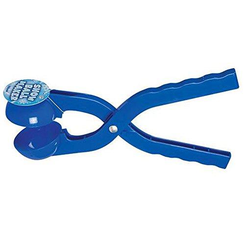Sijueam - leichter Schneeballformer aus Kunststoff, Klemme, hält die Hand warm und trocken, Winter, Kinder, Spiele im Freien, Aktivitäten, Werkzeug, Gerät, Grün/Blau/Rot/Violett/Gelb., blau