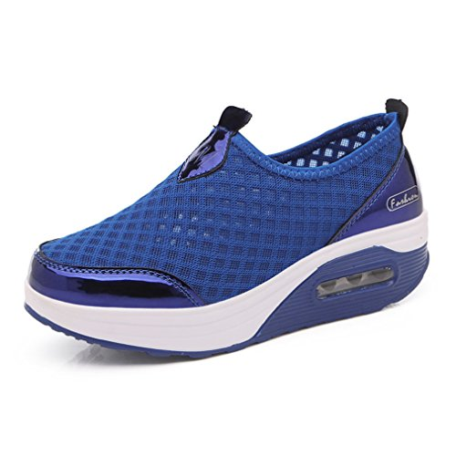 XMeden, Scarpe da camminata donna Royal Blue