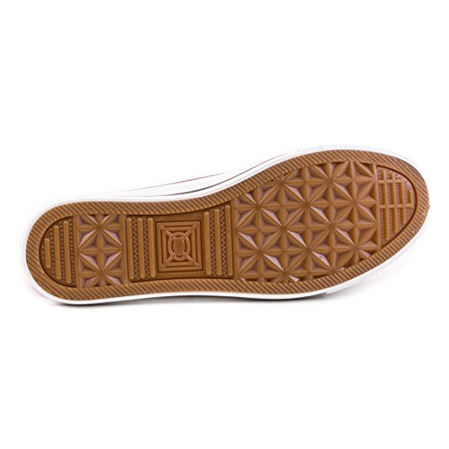 Damen Sneaker Low Top Schuhe Canvas Textil Weiß Urban