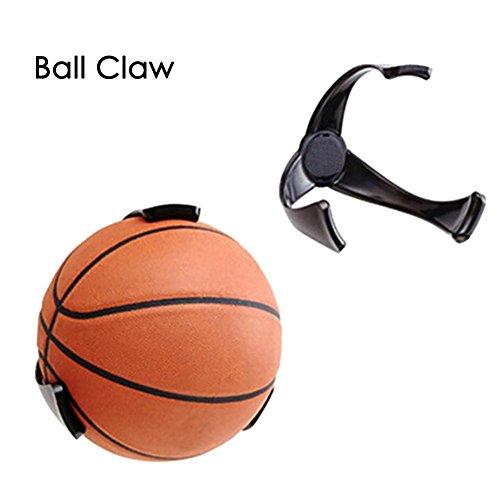 Rack Storage Basketball (WSEUK 1 STÜCK Flexible Kreative Kunststoff Ball Klaue Wand Rack Basketball Halter Fußball Speicherhalterung Für Wohnkultur Lagerregal)