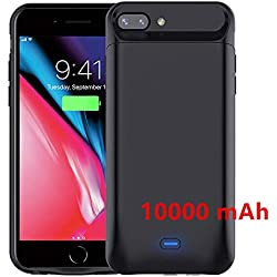 """Coque Battrie 10000mAh iPhone 6 / 6s iphone 7 iphone 8 (4.7"""") Power Bank Chargeur Portable Batterie Externe Rechargeable"""