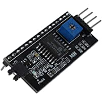 SODIAL(R) IIC I2C TWI SP I tarjeta de interface Serial Port Module para Arduino LCD1602 Display