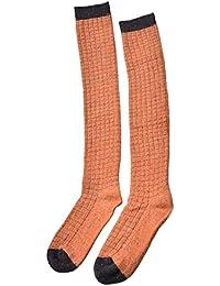 fab28d4d6e0 LifeWheel Women Knee High Wool Long Dress Crew Socks for Student Thick  Autumn Winter Cute Casual