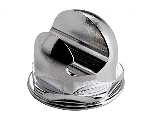 Korium Halter für Rasierer, glanzverchromt - Rasierer Halterung für Gillette Mach3 und Fusion Rasierer für die Nassrasierer Aufbewahrung
