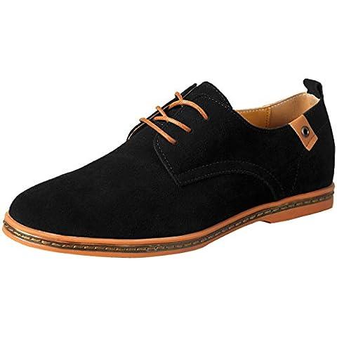 iLoveSIA Cuero Zapatos de Vestir Hombre