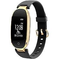 SeniorMar S3 Elegante diseño a Prueba de Agua Bluetooth Smart Watch Monitor de frecuencia cardíaca Fitness