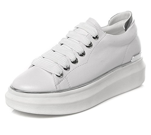 Trifle mit schweren Boden Schuhe Freizeitsportschuh, spitze Schuhe Student Aufzug Schuhe fallen Ms. Silver