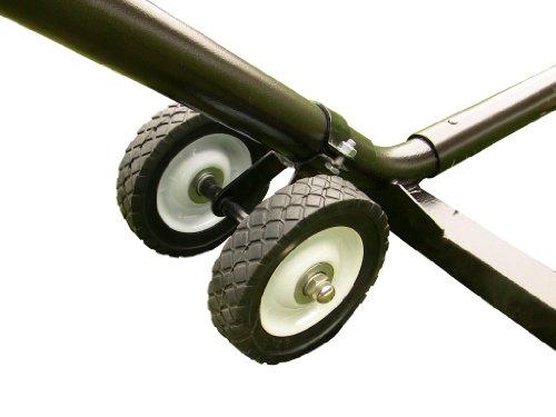 Vivere WHEEL Hängemattengestell Räder Set, Weiß -