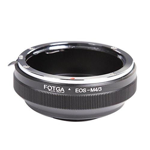 Fotga - Adaptador montura objetivo Canon EOS EF Micro