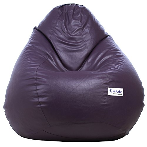 Excel Classic Bean Bag Cover without beans - XXXL Size - Purple Colour  available at amazon for Rs.969