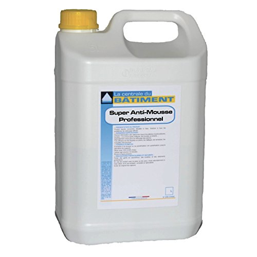 Super Anti-Mousse Fongicide Concentré 5L (=90m2)