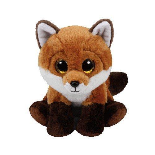 Carl etto TY 90241-Fay-volpe con occhi brillanti, Beanie Classic, 33cm , Modelli/Colori Assortiti, 1 Pezzo