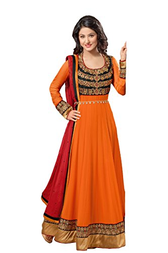 fabboom-da-donna-hina-khan-a-pavimento-lunghezza-anarkali-suit-orange-taglia-unica