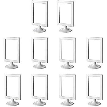 Ikea Tolsby 30151035 Support à Cadre De Photo Ou De Tableau Double Face Paquet De Dix Couleurs Blanc
