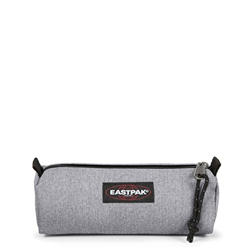 Eastpak Benchmark - Single Federmäppchen, 6 X 20.5 X 7.5 cm, grau (Sunday Grey) -