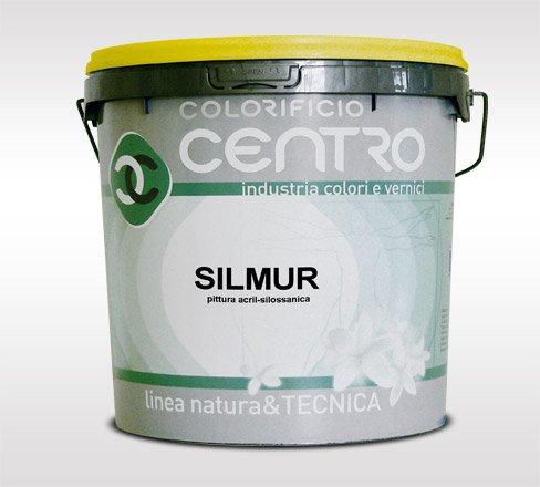 Pittura acril-silossanica-colorificio centro - silmur lt.14