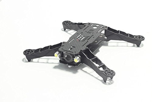 Usmile® Carbon Fiber+ Glass fiber 250 miniquad with integrated PDB and 2 head lights