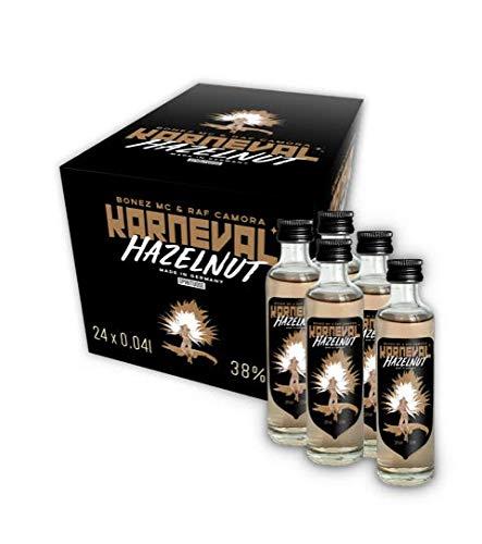 KARNEVAL VODKA Wodka Hazelnut (24 x 0,04l)