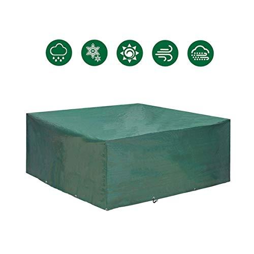 Custodia protettiva per mobili da giardino 240 x 200 x 95 SALOTTO SET DA GIARDINO GRIGIO